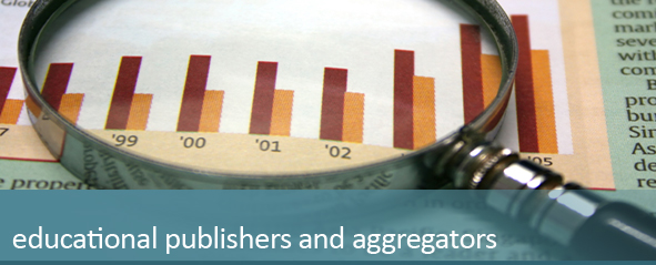 educational publishers and aggregators